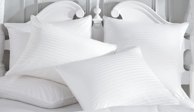 Neat and clean odor free Pillows